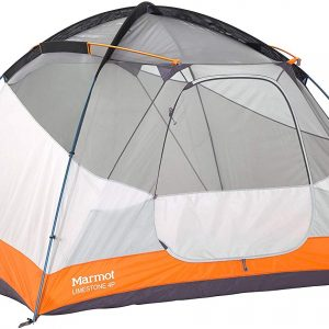 seam-taped polyester fly is equipped Marmot Limestone Camping Tent this family tent becomes fully waterproof without sacrificing air circulation Durable