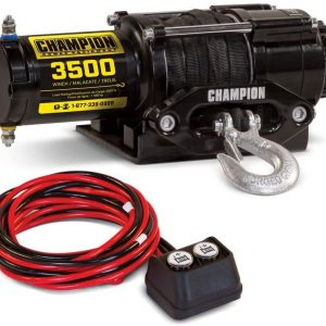 Champion 3500-lb. ATV/UTV Synthetic Rope Winch Kit